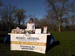 Bridgewater 5k run table