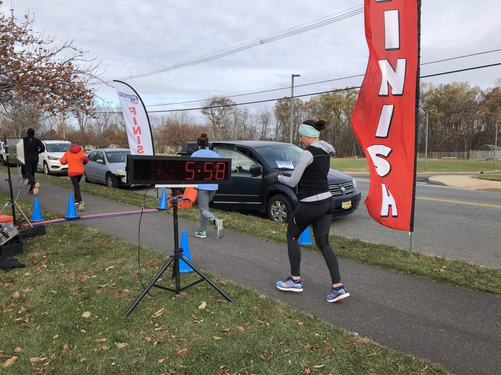 "Participants of all ages were a part of the Branchburg Education Foundation's inaugural ""Make Room for Turkey"" 5K."