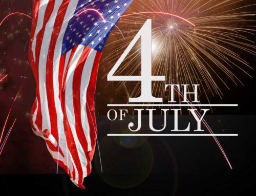 Our office will be Open July 4th, from 9am-1pm.