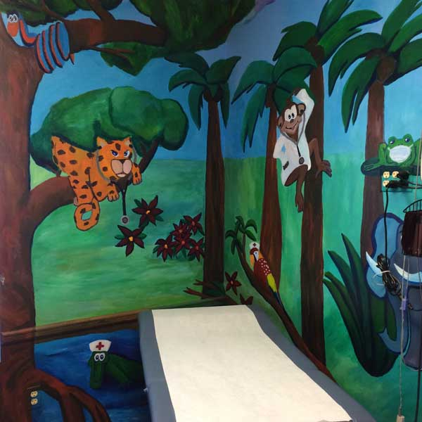 Pediatric Exam Room at Access Medical Associates Branchburg NJ