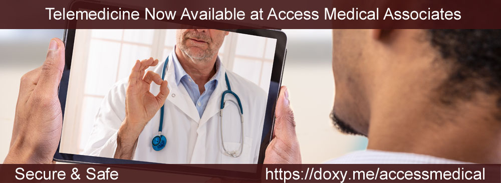 Telemedicine Available at Access Medical Associates Branchburg NJ