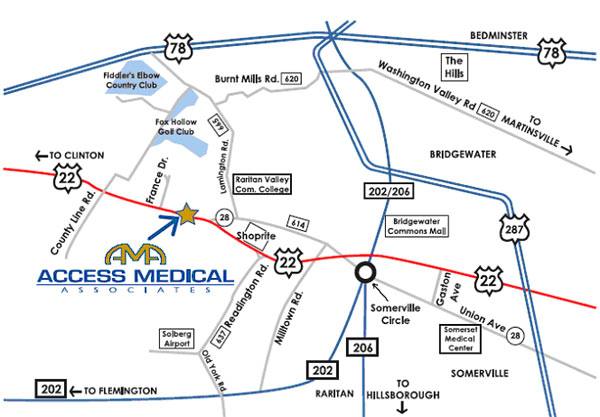Access Medical Associates Urgent Care in Branchburg NJ