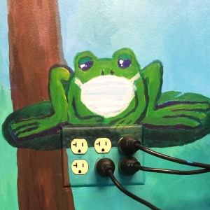 Frog - Pediatric Exam Room at Access Medical Associates Branchburg NJ